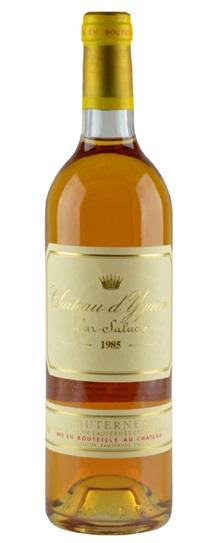 1985 Chateau d'Yquem Sauternes Blend