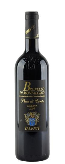 2001 Talenti Brunello di Montalcino Riserva