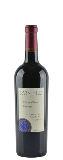 2010 Seven Hills Ciel Du Cheval Vineyard