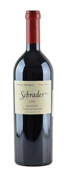 2006 Schrader Cellars Cabernet Sauvignon Beckstoffer To Kalon Vineyard