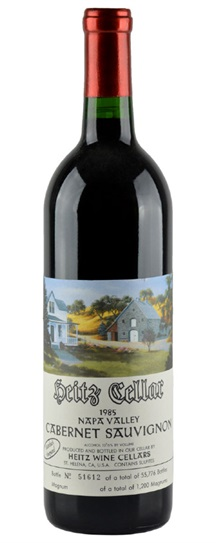 1986 Heitz Cabernet Sauvignon Martha's Vineyard