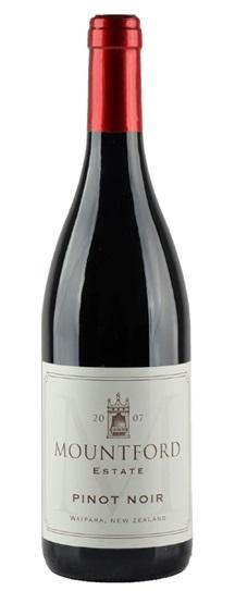 2007 Mountford Estate Pinot Noir