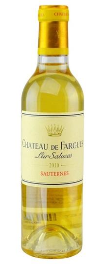 2010 Chateau de Fargues Sauternes Blend