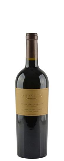 2001 Anakota Cabernet Sauvignon Helena Dakota Vineyard