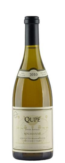2010 Qupe Roussanne Bien Nacido Vineyard