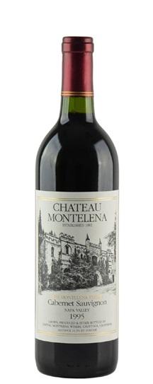 1995 Chateau Montelena Cabernet Sauvignon Estate