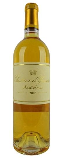 2005 Chateau d'Yquem Sauternes Blend