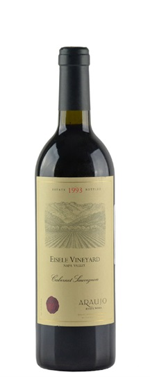 1993 Araujo Estate Cabernet Sauvignon Eisele Vineyard