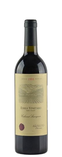 1993 Araujo Estate Cabernet Sauvignon Eisele Vineyard