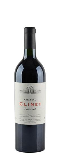 2002 Clinet Bordeaux Blend