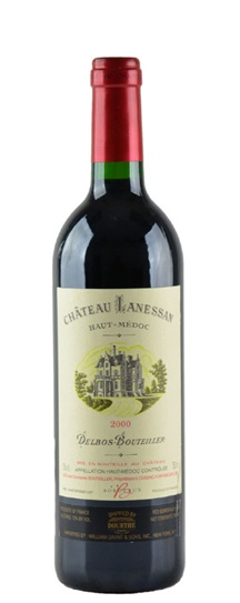 2000 Lanessan Bordeaux Blend