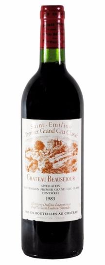 1983 Beausejour (Duffau Lagarrosse) Bordeaux Blend