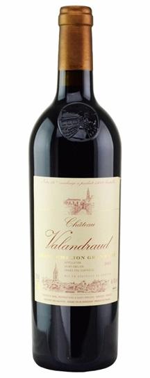2002 Valandraud Bordeaux Blend