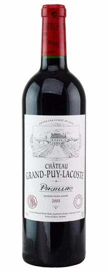 2003 Grand-Puy-Lacoste Bordeaux Blend
