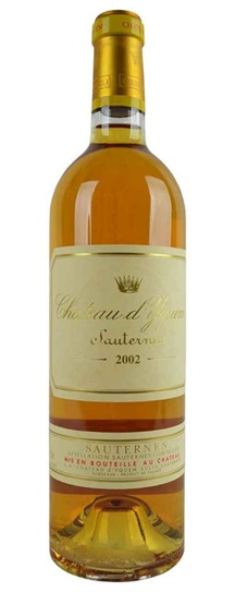2002 Chateau d'Yquem Sauternes Blend