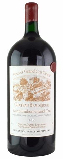 1986 Beausejour (Duffau Lagarrosse) Bordeaux Blend