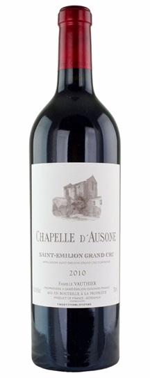 2010 Chapelle d'Ausone Bordeaux Blend