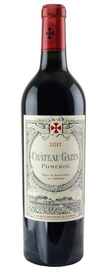 2011 Gazin Bordeaux Blend