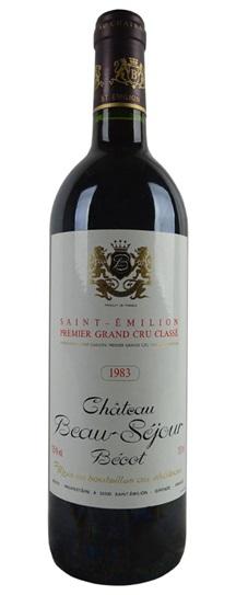 1983 Beau-Sejour-Becot Bordeaux Blend