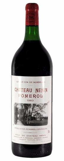 1983 Nenin Bordeaux Blend