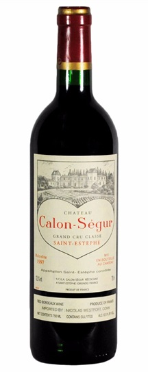 1997 Calon Segur Bordeaux Blend