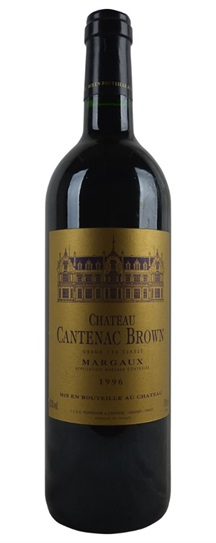1982 Cantenac Brown Bordeaux Blend