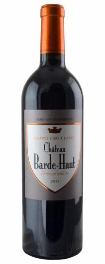 2012 Barde-Haut Bordeaux Blend