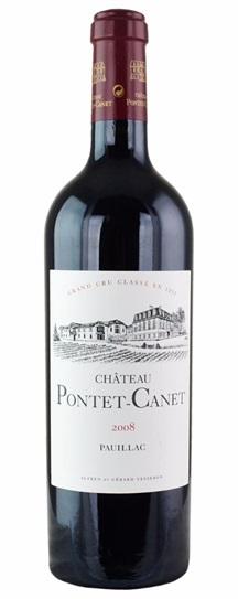 2008 Pontet-Canet Bordeaux Blend