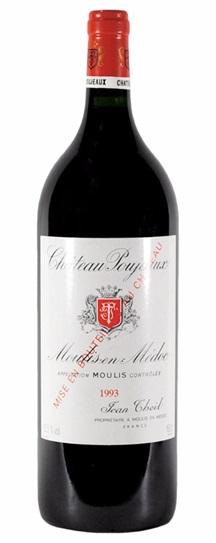 1993 Poujeaux Bordeaux Blend