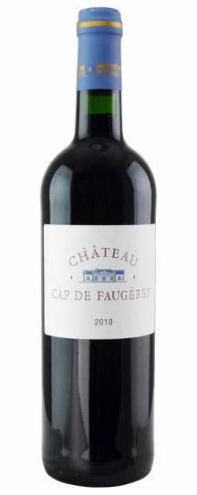 2010 Cap de Faugeres Bordeaux Blend