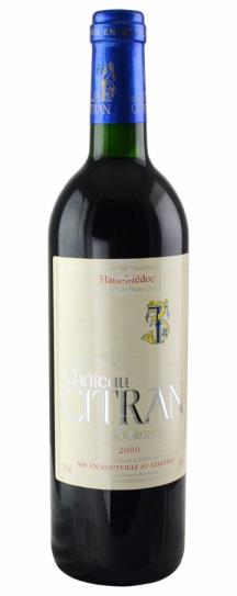 2000 Citran Bordeaux Blend