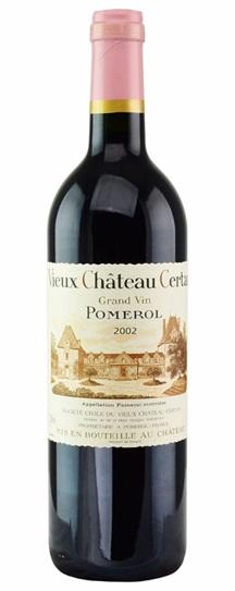 2002 Vieux Chateau Certan Bordeaux Blend