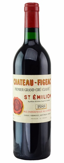 1985 Figeac Bordeaux Blend