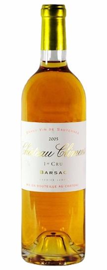 2005 Climens Sauternes Blend
