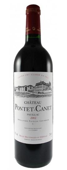 2002 Pontet-Canet Bordeaux Blend
