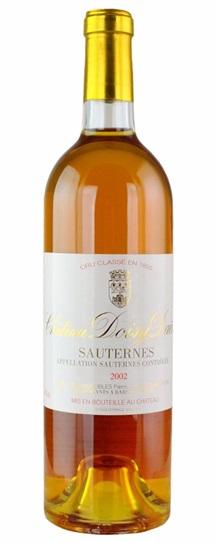 2001 Doisy Daene Sauternes Blend