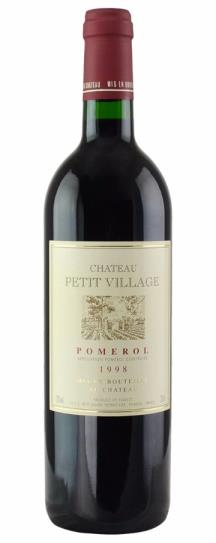 2000 Petit Village Bordeaux Blend