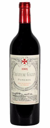 2005 Gazin Bordeaux Blend