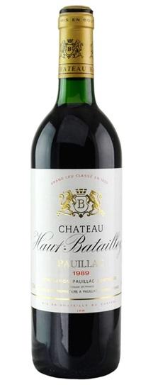 1989 Haut Batailley Bordeaux Blend
