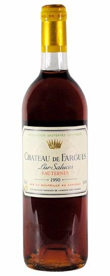 1990 Chateau de Fargues Sauternes Blend