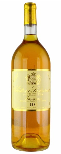 1986 Chateau Suduiraut Sauternes Blend