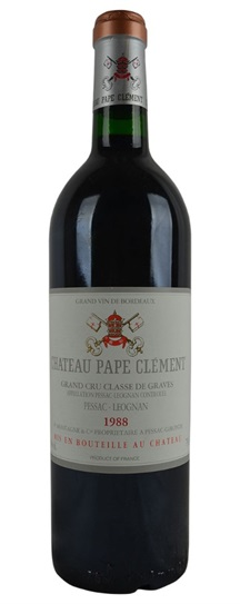 1988 Pape Clement Bordeaux Blend