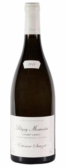 2011 Sauzet, Domaine Etienne Puligny Montrachet Champ Canet Premier Cru