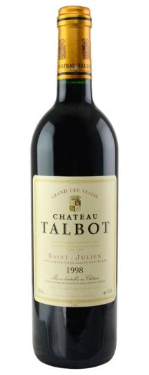 1998 Talbot Bordeaux Blend