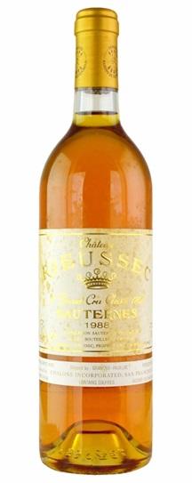 1988 Rieussec Sauternes Blend