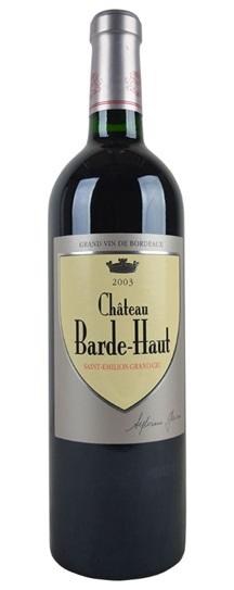 2003 Barde-Haut Bordeaux Blend