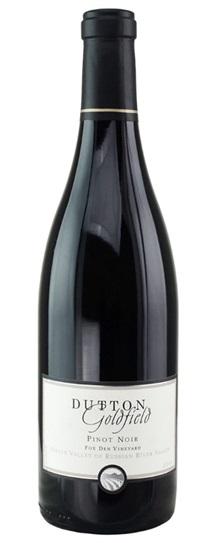 2011 Dutton-Goldfield Pinot Noir Dutton Ranch - Fox Den Vineyard
