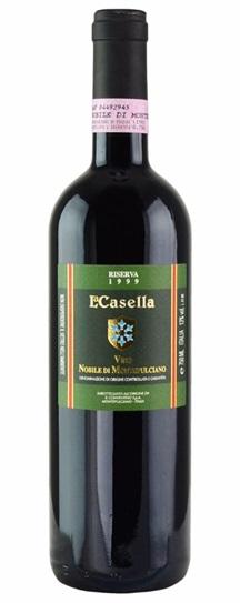 1999 La Casella Vino Nobile di Montepulciano Reserva