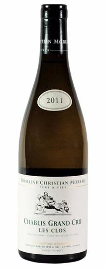 2011 Christian Moreau & Fils Chablis Les Clos