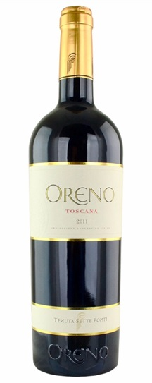 2011 Sette Ponti Oreno Proprietary Red Wine